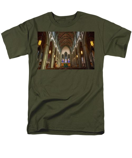 Inside Christchurch Cathedral Men's T-Shirt  (Regular Fit) by Keith Boone
