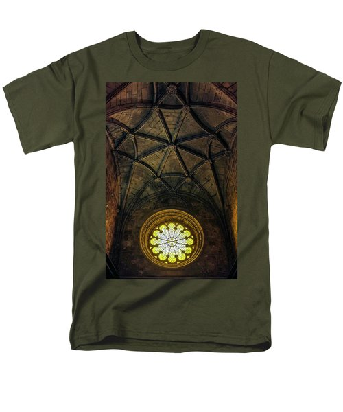 Men's T-Shirt  (Regular Fit) featuring the photograph Inside Jeronimos by Carlos Caetano