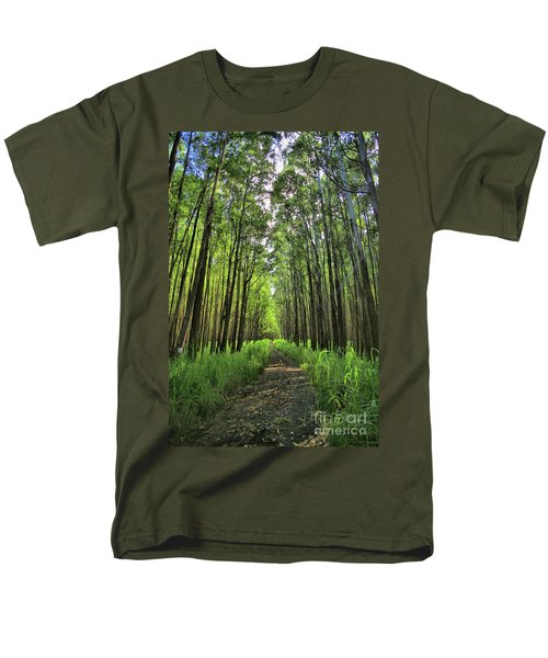 Men's T-Shirt  (Regular Fit) featuring the photograph Into The Forest by DJ Florek