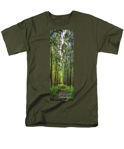 Men's T-Shirt  (Regular Fit) featuring the photograph Into The Forest I Go by DJ Florek