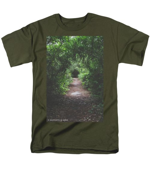 Into The Wormhole Men's T-Shirt  (Regular Fit)