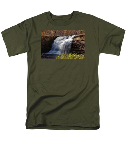 Men's T-Shirt  (Regular Fit) featuring the photograph Isaiah 44 by Diane E Berry