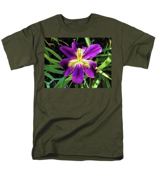 Island Iris 2 Men's T-Shirt  (Regular Fit) by Penny Lisowski