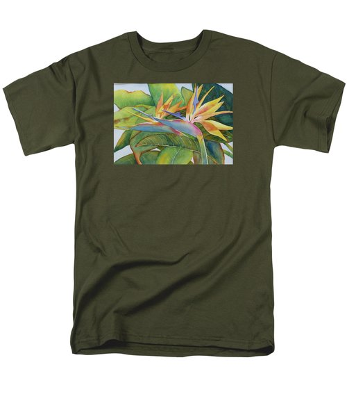 Men's T-Shirt  (Regular Fit) featuring the painting It Takes Two by Judy Mercer