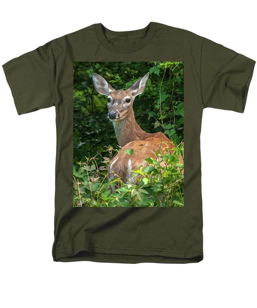 Ivy League Doe Men's T-Shirt  (Regular Fit)