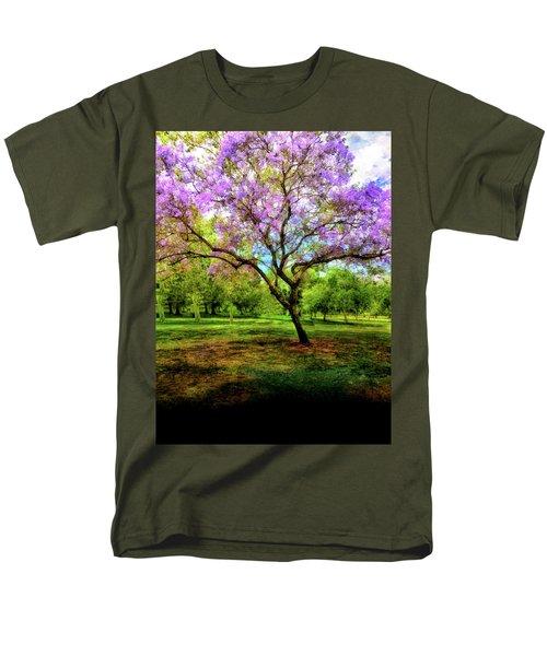 Jacaranda Tree Men's T-Shirt  (Regular Fit) by Joseph Hollingsworth