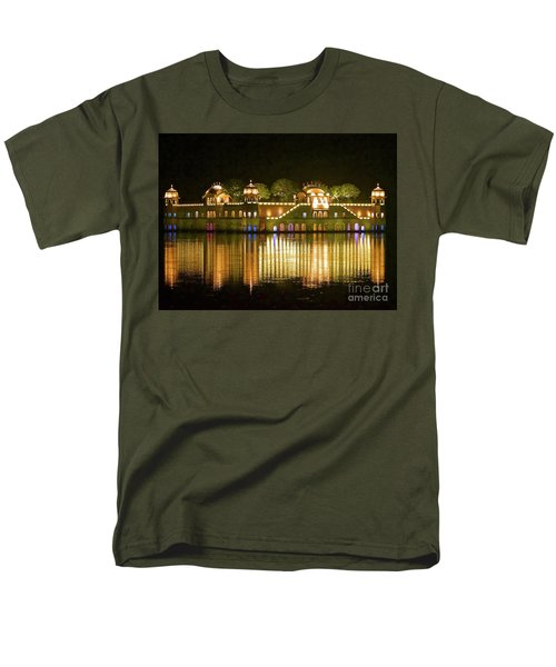 Jal Palace At Night Men's T-Shirt  (Regular Fit) by Michael Cinnamond