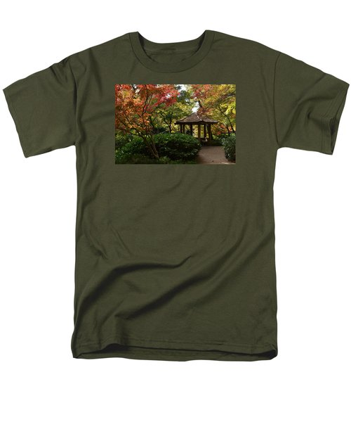 Men's T-Shirt  (Regular Fit) featuring the photograph Japanese Gardens 2577 by Ricardo J Ruiz de Porras