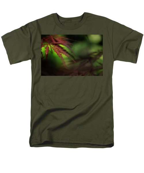 Men's T-Shirt  (Regular Fit) featuring the photograph Japanese Maple by Mike Eingle