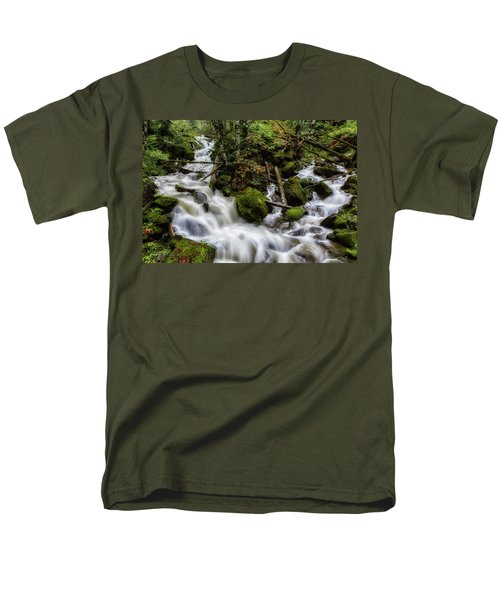 Joining Forces Men's T-Shirt  (Regular Fit) by Charlie Duncan