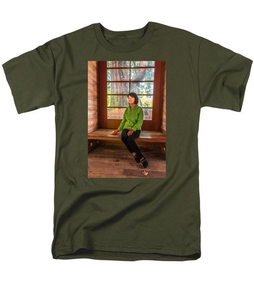 Men's T-Shirt  (Regular Fit) featuring the photograph Josie by Jerry Cahill