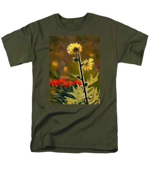 July Afternoon-compass Plant Men's T-Shirt  (Regular Fit) by Bruce Morrison