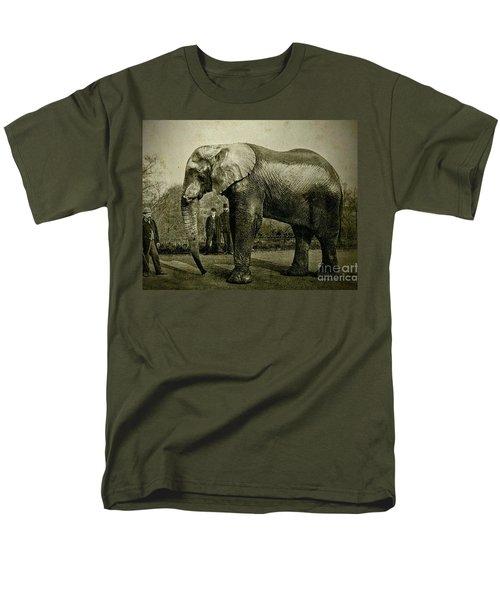 Jumbo The Elepant Circa 1890 Men's T-Shirt  (Regular Fit)