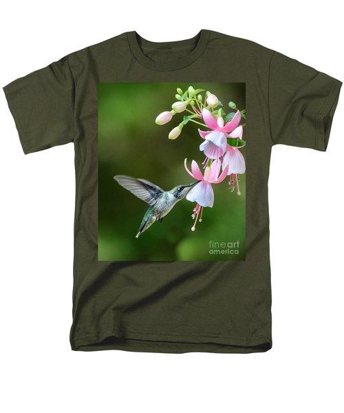Just A Sip Men's T-Shirt  (Regular Fit) by Amy Porter