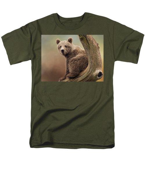 Juvenile Brown Bear - 365-5 Men's T-Shirt  (Regular Fit)