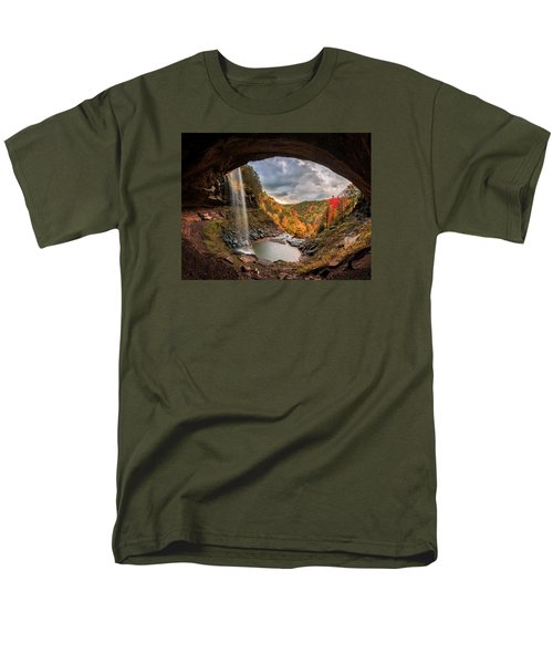 Kaaterskill Falls Men's T-Shirt  (Regular Fit) by Anthony Fields