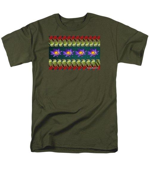 Kangaroo Paw Heaven Men's T-Shirt  (Regular Fit)