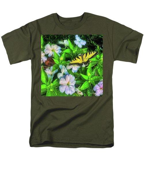 Karen's Garden Men's T-Shirt  (Regular Fit) by Toma Caul