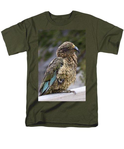 Kea Bird Men's T-Shirt  (Regular Fit) by Sally Weigand