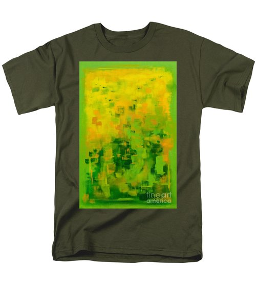 Men's T-Shirt  (Regular Fit) featuring the painting Kenny's Room by Holly Carmichael