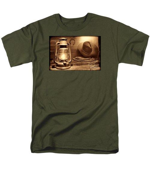 Kerosene Lantern Men's T-Shirt  (Regular Fit) by American West Legend By Olivier Le Queinec