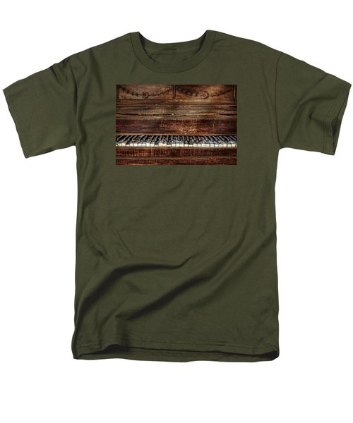 Men's T-Shirt  (Regular Fit) featuring the photograph Keyless by Ken Smith