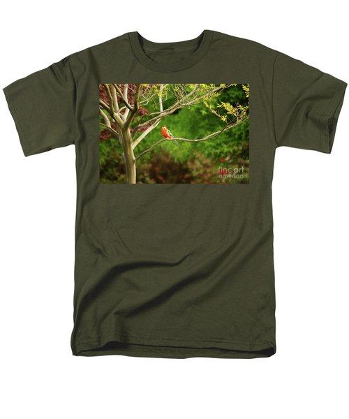 King Parrot Men's T-Shirt  (Regular Fit) by Cassandra Buckley