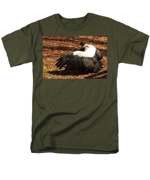 King Vulture 2 Strutting Men's T-Shirt  (Regular Fit) by Chris Flees