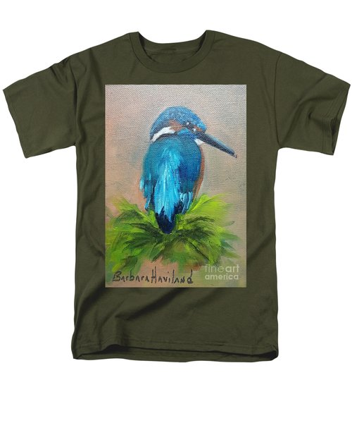 Kingfisher Bird Men's T-Shirt  (Regular Fit)