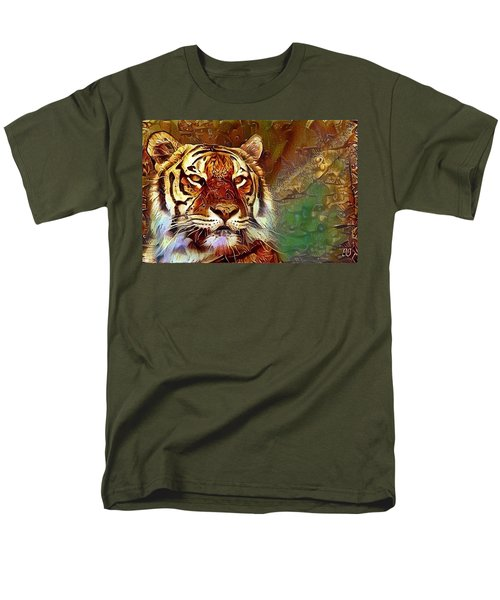 Men's T-Shirt  (Regular Fit) featuring the photograph  Kisa  by Geri Glavis