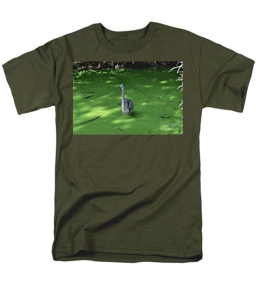 Men's T-Shirt  (Regular Fit) featuring the photograph Knee Deep by Carol  Bradley