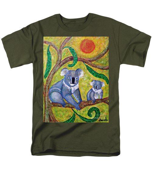 Koala Sunrise Men's T-Shirt  (Regular Fit) by Sarah Loft