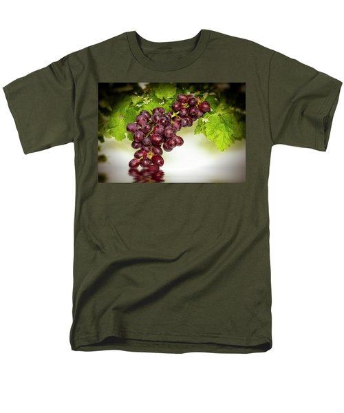 Krissy Gold Grapes Men's T-Shirt  (Regular Fit) by David French