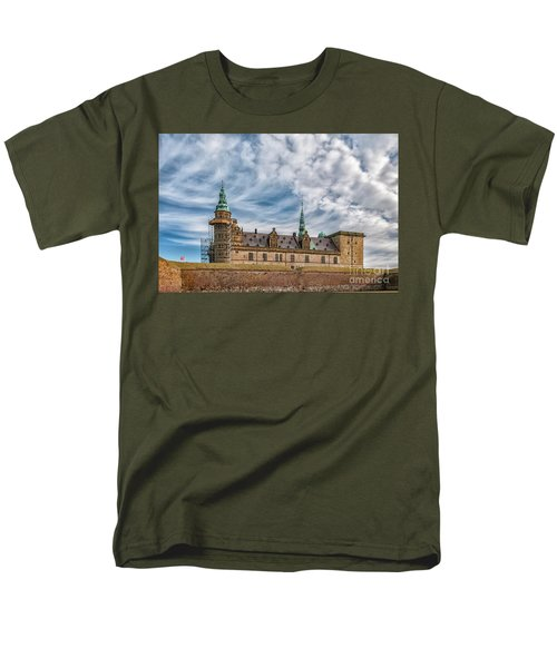Men's T-Shirt  (Regular Fit) featuring the photograph Kronborg Castle In Denmark by Antony McAulay