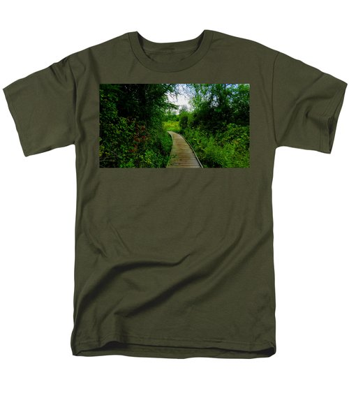 La Budde Boardwalk Men's T-Shirt  (Regular Fit) by Kimberly Mackowski