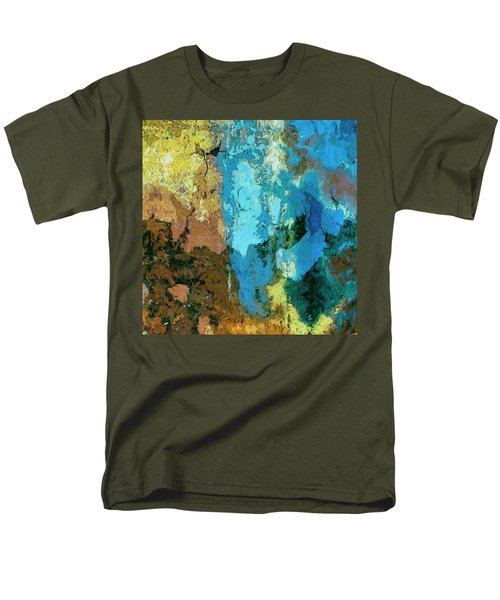 Men's T-Shirt  (Regular Fit) featuring the painting La Playa by Dominic Piperata