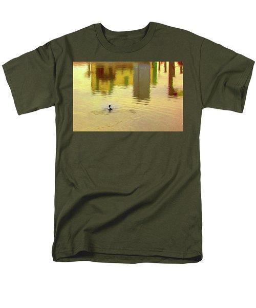 Labyrinthine #d7 Men's T-Shirt  (Regular Fit)