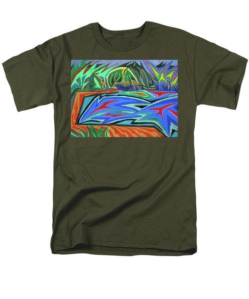 Lac Aura Men's T-Shirt  (Regular Fit) by Robert SORENSEN