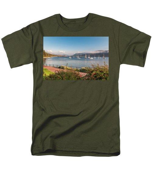 Gulf Of  Ullapool  - Photo Men's T-Shirt  (Regular Fit) by Sergey Simanovsky