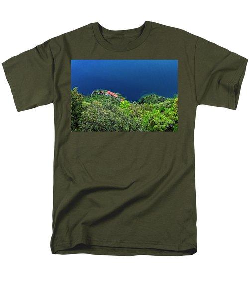 Lake Garda  Men's T-Shirt  (Regular Fit) by Maja Sokolowska