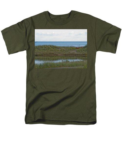 Men's T-Shirt  (Regular Fit) featuring the photograph Lake Huron by Tara Lynn