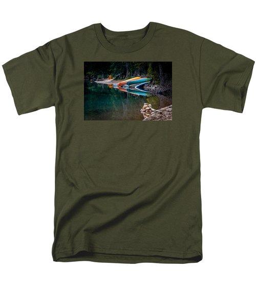 Kayaks At Rest Men's T-Shirt  (Regular Fit) by Menachem Ganon