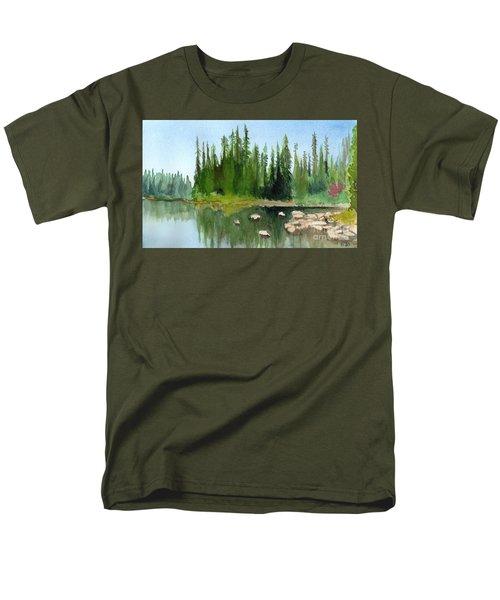 Lake View 1 Men's T-Shirt  (Regular Fit) by Yoshiko Mishina