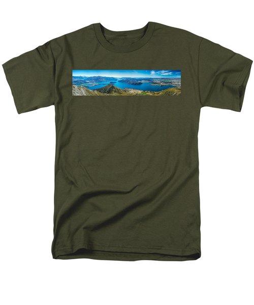 Lake Wanaka Men's T-Shirt  (Regular Fit) by Martin Capek