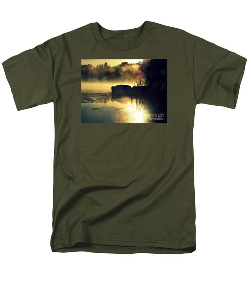 Lakeshore Men's T-Shirt  (Regular Fit) by France Laliberte