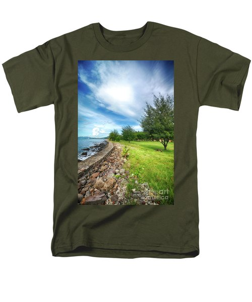 Men's T-Shirt  (Regular Fit) featuring the photograph Landscape 2 by Charuhas Images