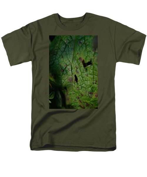 Men's T-Shirt  (Regular Fit) featuring the photograph Languid Leaf by Adria Trail