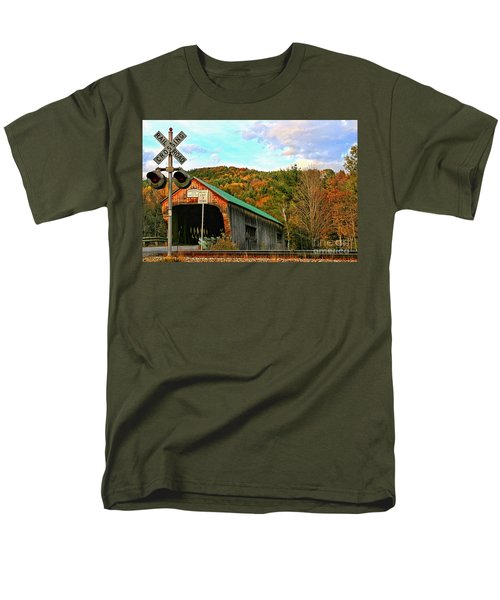 Men's T-Shirt  (Regular Fit) featuring the photograph Last Days by DJ Florek