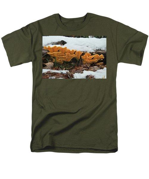Last Mushrooms Of The Seasons Men's T-Shirt  (Regular Fit) by Michael Peychich