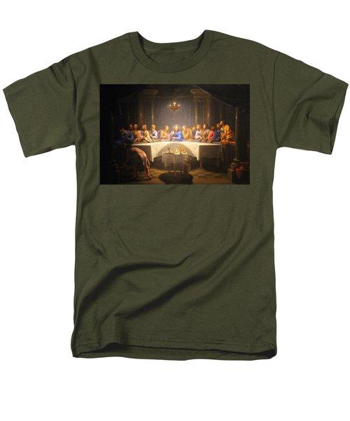 Last Supper Meeting Men's T-Shirt  (Regular Fit) by Munir Alawi